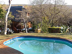 Game reserve lodge accommodation at Kwalata Wilderness near Vaalwater and Ellisras