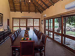Ka'Ingo Private Reserve & Spa caters for any conference or bosberaad